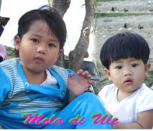 Mela, saat 3 & 1 Tahun di Ule