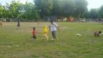 Firraz_Main Bola sama mb Mela, Ayah di Lap. Pahlawan Raba