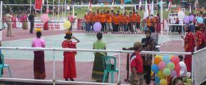 Kota Bima_pembukaan Volley ball Walikota Bima Cup