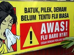 Awas flu burung....