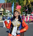 SMP 2 Kota Bima_leader marching band