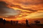 Sunset di Kota Kupang