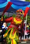 Penari Kipas Merah dari Kota Probolinggo