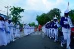 Apeksi di Kota Bima_Drumband SMP 2 Kota Bima