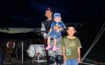 Firraz Fakhri diatas KRI Teluk Sangkurilang