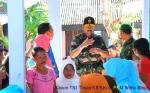 Kasum TNI Tinjau Bakti Sosia