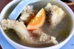 Sop Ikan di Bima