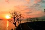 Sunset di Pantai Kalaki Kota Bima