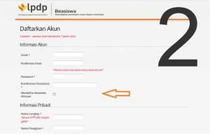 klik dikotak : mendaftar beasiswa afirmasi