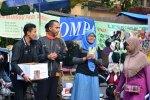 AwarDIY peduli bencana Tanah Longso