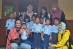 Anak-anak kelas II SDN Dengok I