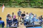 Klotok dari & ke Sri Getuk waterfall