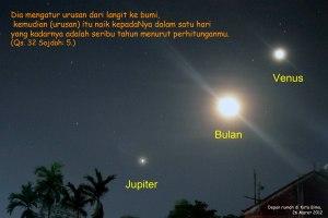 triple jupiter bulan venus