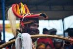 Salah satu Pemain Caci di Ruteng