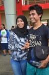 Rangga Muslim Perkasa (15), Dukungan dari adik-adik mahasiswa Bima