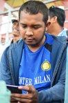 Rangga Muslim Perkasa (15), Dukungan untuk PSIM dari sesama Nerazzurri  (biru)
